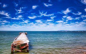 An Südafrikas Küste von