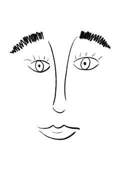 Abstrakter Kopf von MishMash van Heukelom