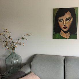 Klantfoto: SimplyBeauty van Lucienne van Leijen, op canvas