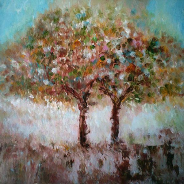Herfst bomen van Angel Estevez