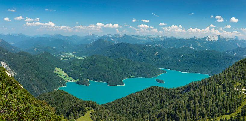 Walchensee mit Karwendelgebirge, Bayern, Deutschland von Markus Lange