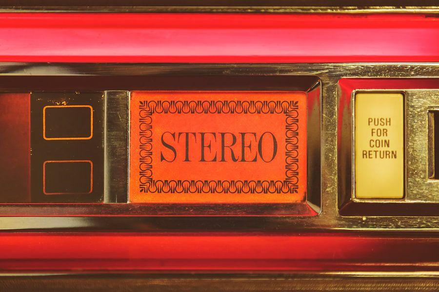 De stereo jukebox van Martin Bergsma