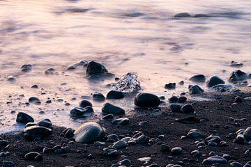 Eisstück am Strand von Bastis photos