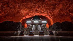 Stockholm metro van