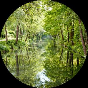 Hollands waterlandschap van Andy Van Tilborg