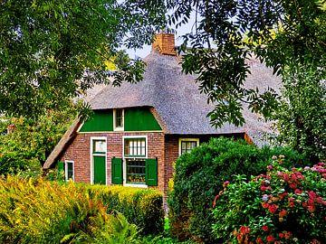 Guitig Giethoorn 1 (Huis in Giethoorn) van Caroline Lichthart