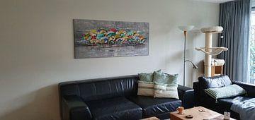 Kundenfoto: Peloton von Atelier Paint-Ing