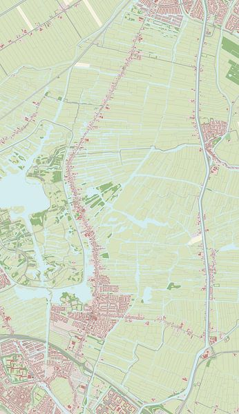 Kaart vanLandsmeer