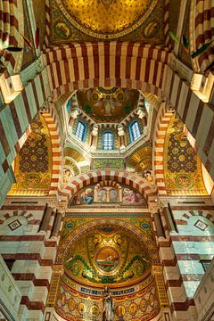 Basilika Notre Dame de la Garde in Marseille Frankreich 2