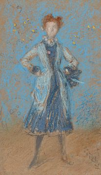 La fille bleue, James Abbott McNeill Whistler