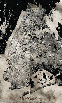 New Yorkse stad van Alexander Dorn