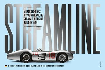 Mercedes W196 Streamline, Tribute von Theodor Decker