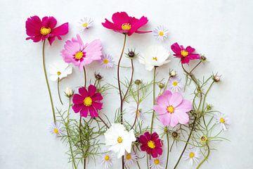 Blumenporträt (Kosmetikerin) von Ineke VJ