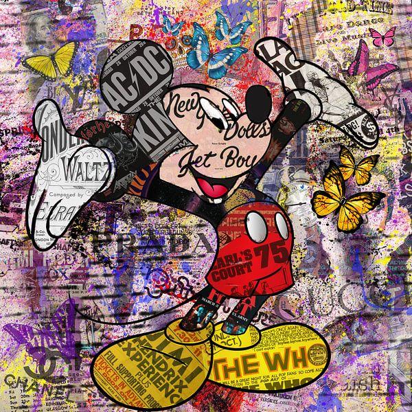Micky Maus von Rene Ladenius Digital Art