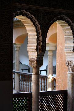 Andalusië doorkijk van Bas van Veen
