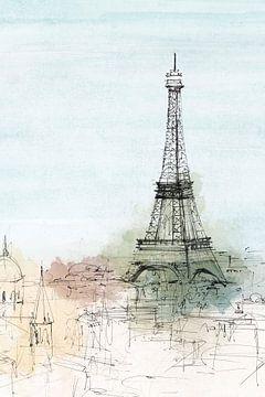 Paris Lookout I, Isabelle Z  van PI Creative Art