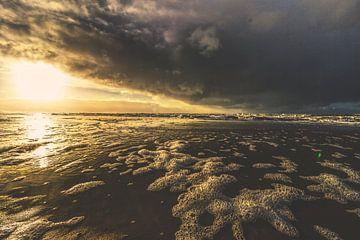 Strand Noordwijk van Frank Batenburg
