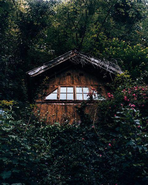 Scheune, Winziges Haus, Stadterkundung in Hallstatt Österreich von Marion Stoffels