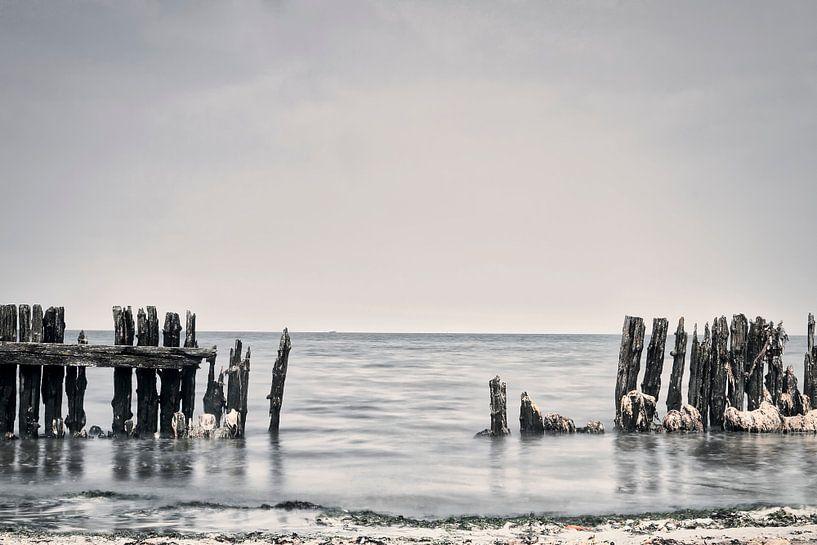Waddenzee #1 van Ruud van Oeffelen-Brosens