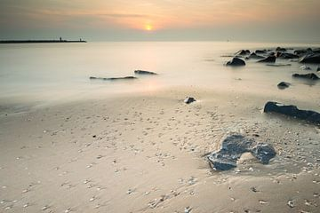 Het strand van Scheveningen - 1 von Damien Franscoise