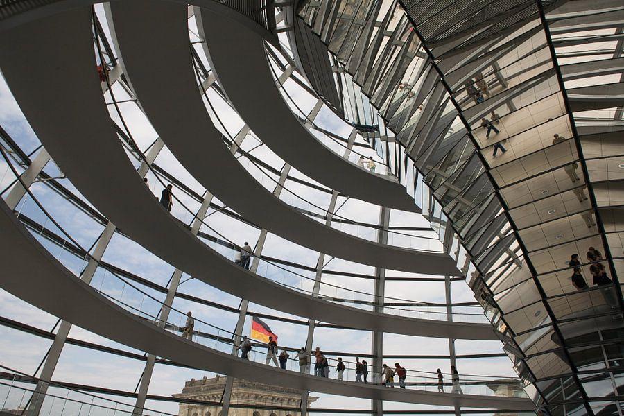 De koepel van de Reichstag