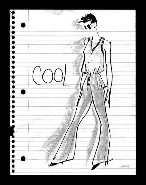 cool Doodle, Anne Tavoletti sur Wild Apple