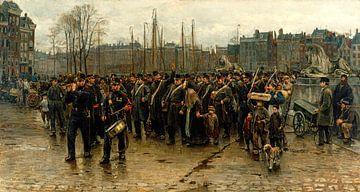 Der Transport der Kolonial-Soldaten, Isaac Israels
