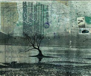 Einsamer Baum von Nora Bland