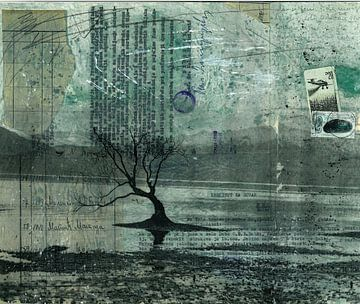 Eenzame boom van Nora Bland