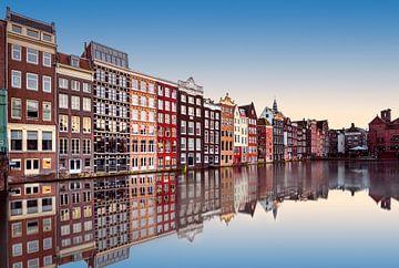 Calme sur Amsterdam van Arnaud Bertrande