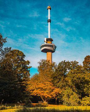 De Euromast in het Park in Rotterdam van Arisca van 't Hof