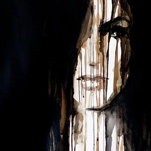 Schwarz anmalen von Olga Tromp