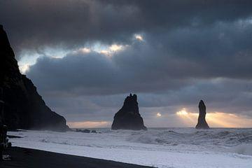 Reynisfjara Bucht, Vik, Island, Europa von Alexander Ludwig
