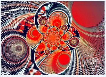 Bewegung im Universum van Annabella Rharbaoui