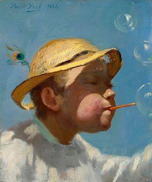 Le garçon aux bulles, Paul Peel