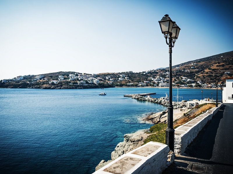 Andros Island - Batsi (Greece) van Alexander Voss