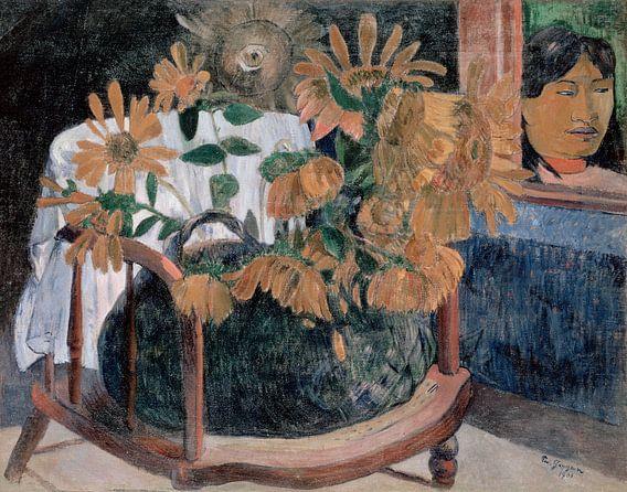 Zonnebloemen, Paul Gauguin