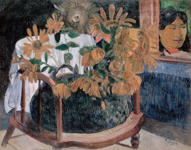 Zonnebloemen, Paul Gauguin van The Masters