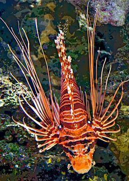 Feuerfisch von Leopold Brix