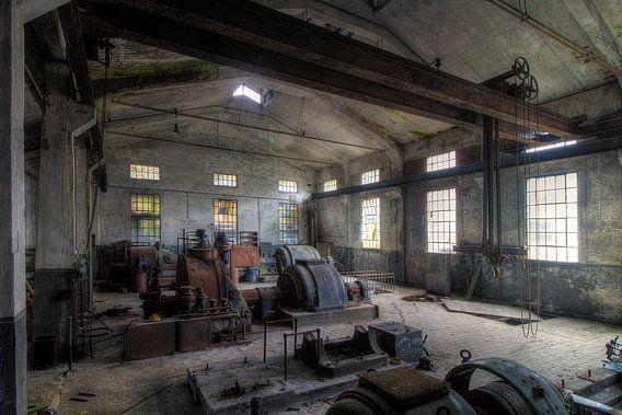 De oude machines