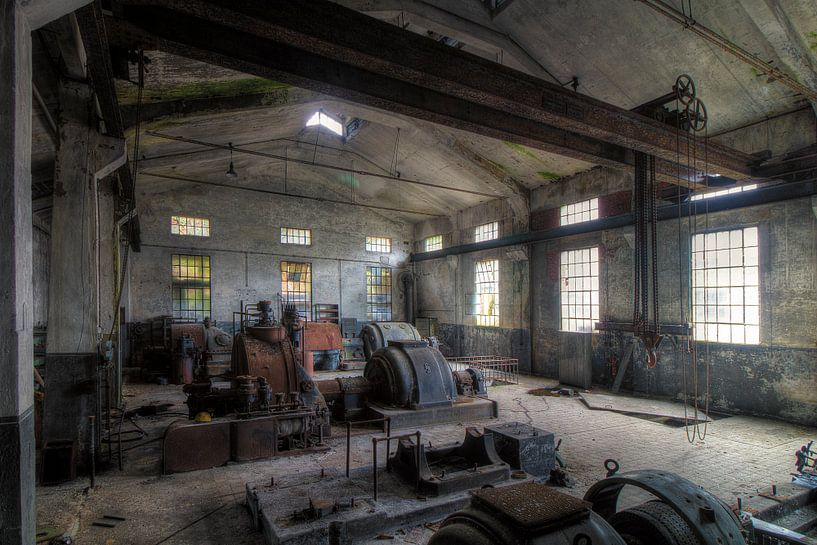 De oude machines van Truus Nijland