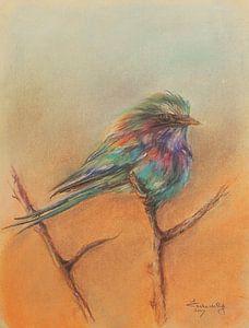Vogel 2 van Ineke de Rijk