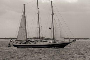 """Zeilschip driemaster """"de Eendracht"""" van Abra van Vossen"""