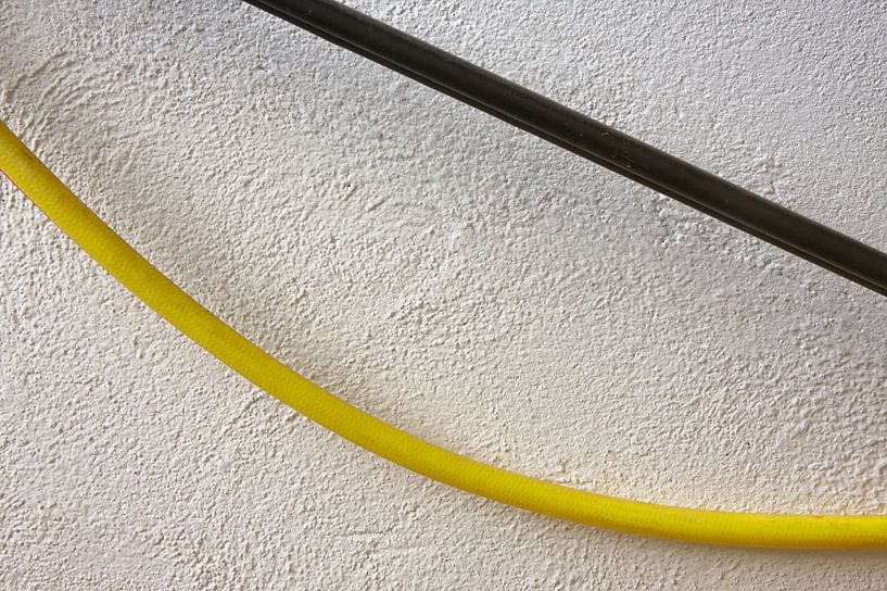 Accrocher la rampe murale de tuyau d'eau sur Jan Brons