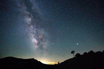 L'observation des étoiles dans la nuit sur Robert de Boer