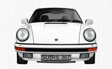 Porsche 911 3.2 Carrera Cabrio in Originalfarbe von aRi F. Huber