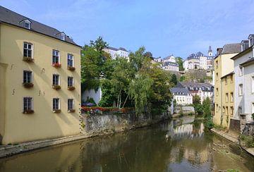 Luxemburg: Lot op de Alzette van Berthold Werner