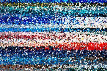 Kleurrijke kristallen van Marion Tenbergen