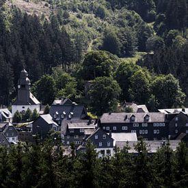 Een historisch dorp in Sauerland van Lucas van Gemert