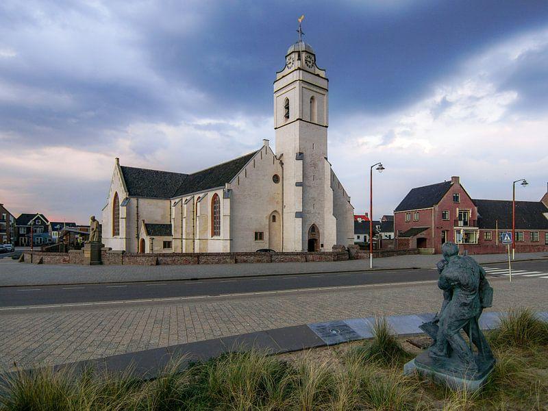 Oude kerk Katwijk van Dirk van Egmond